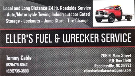 Boat Shop Robbinsville Nc by Eller S Fuel And Wrecker Service Gas Station