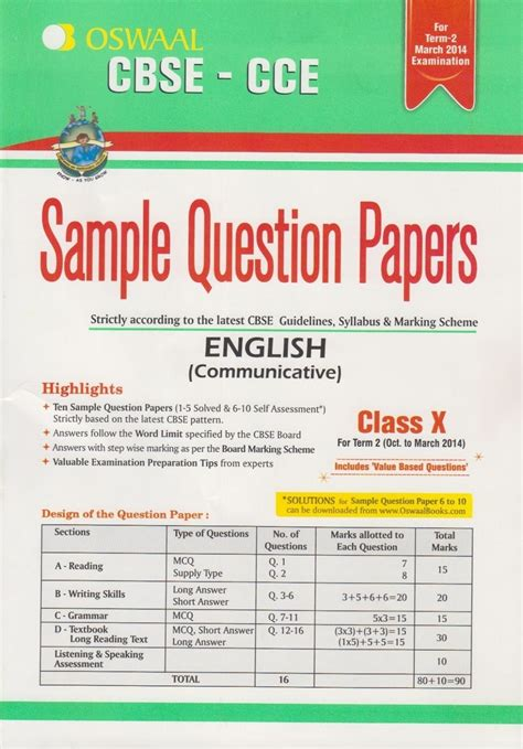 Om month/ lesson competencies elo suggested activities t.l.m. CBSE CLASS 9 CCE SAMPLE PAPERS SYLLABUS 2ND TERM ...
