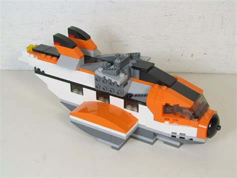 Lego Boat Plane by Lego Arctic 5 Exploration Boat With Plane And Snow Runner