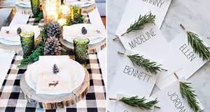 Faire Une Belle Table Pour Recevoir : 10 tables de no l qui sortent de l 39 ordinaire recevoir ~ Melissatoandfro.com Idées de Décoration