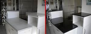 Changer Plan De Travail Cuisine : plan granit marbre quartz cuisine salle de bain ~ Dailycaller-alerts.com Idées de Décoration