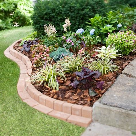 landscape border designs  superb garden edging ideas