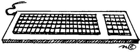 Keyboard Clipart Computer Part
