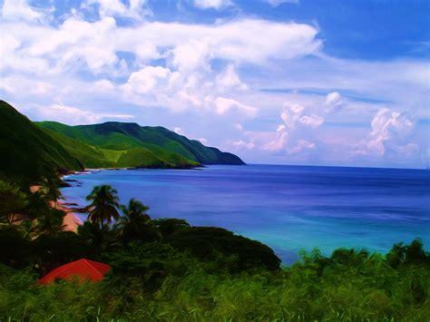 Davis Bay St. Croix Us Virgin Islands Painting By Linda