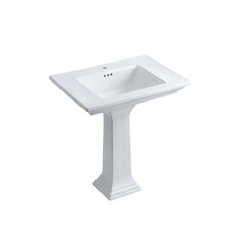kohler bathroom sinks home depot kohler memoirs stately ceramic pedestal combo bathroom