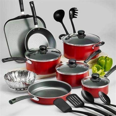 pots pans cooking stick non cookware nonstick lids tramontina