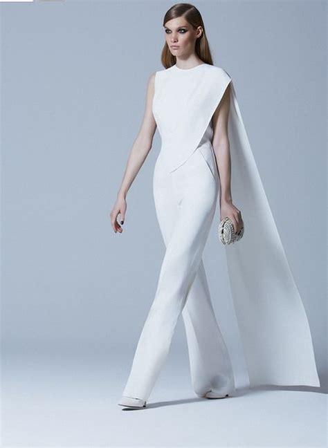 white jumpsuit for wedding glam white jumpsuit by elie saab wedding attire