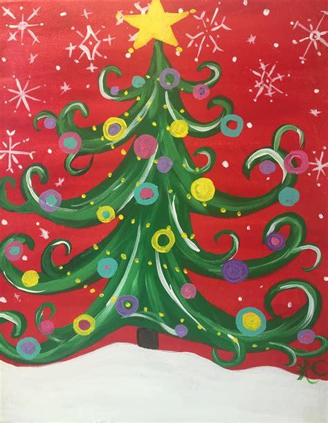 funky christmas tree brush studio minneapolis