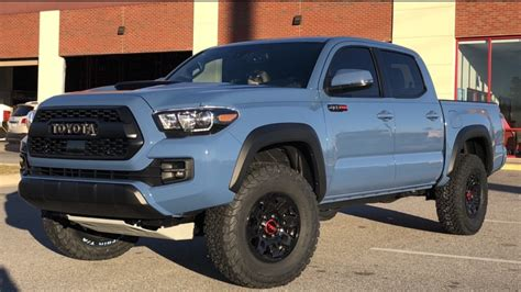 trd pro calvary blue tacoma forum toyota truck fans