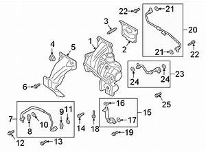 Ford Escape Exhaust Manifold  Turbocharger Assembly  Incl