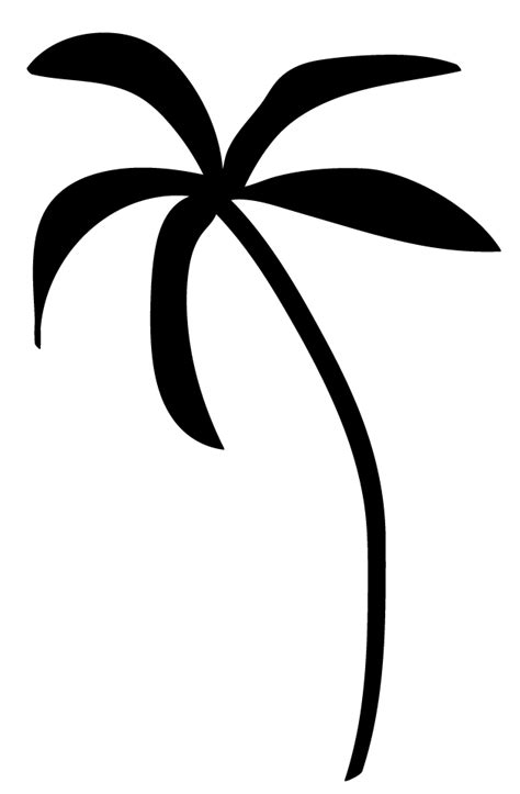 palm tree clipart black and white no background free palm tree clipart for you to use in craft projects