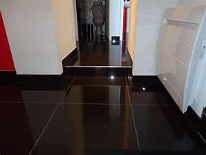 carrelage 60x60 gris prix With carrelage salle de bain noir brillant