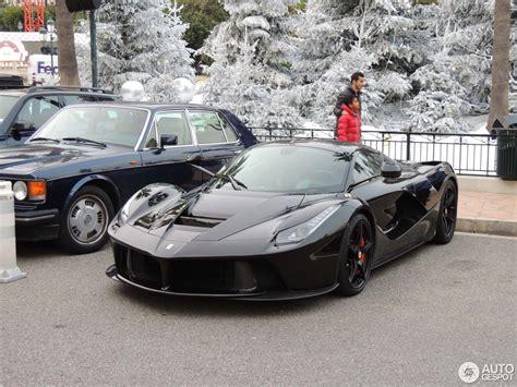 2015 Ferrari, Black Exterior Color, Front