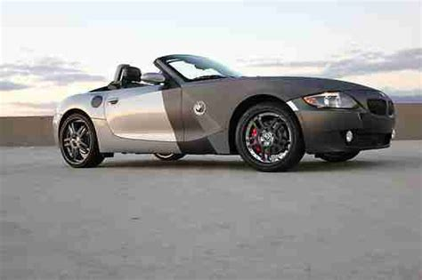 Find Used Bmw Z4 Custom 3.0 Clean Title Wheels Convertible