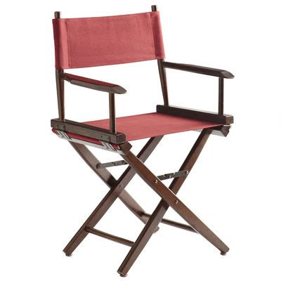 director s chair frame latte pier 1 imports
