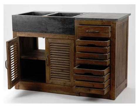 meuble cuisine en bois table rabattable cuisine meuble de cuisine bois
