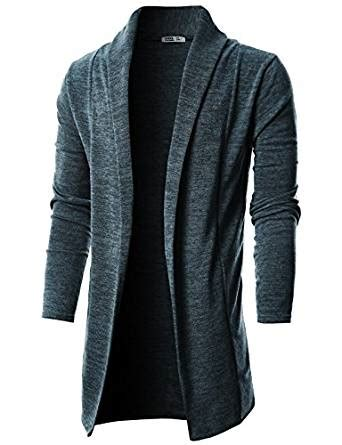 mens drape cardigan ohoo mens sleeve draped lightweight open front shawl