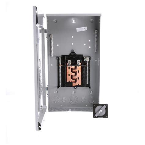 Siemens Amp Space Circuit Main Lug Outdoor Load