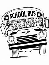 Bus Coloring Cramped Printable Cartoon Map Prints Getdrawings sketch template