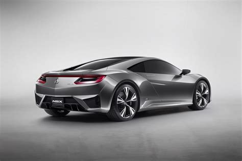 this is the new acura honda nsx sports hybrid concept