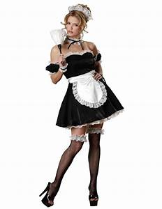 Satin French Maid Outfit | Simply Fancy Dress