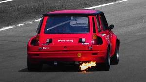 Renault 5 Turbo 2 In Action On Track