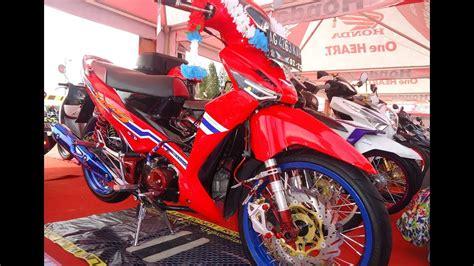 Supra Thailook by Modifikasi Thailook Style Supra X 125 Bergaya Honda Wave