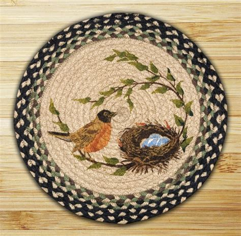 robin s nest braided jute chair pad by capitol earth rugs