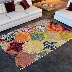 tapis salon casablanca oriental universol achat vente With tapis oriental moderne