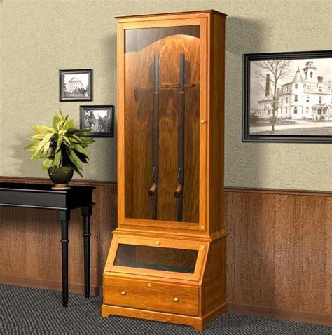 images  gun cabinet plans  pinterest wood