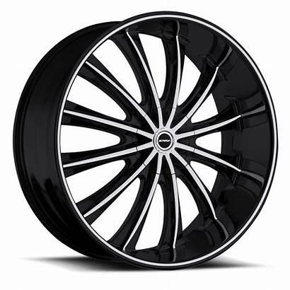 Strada Corona Wheels Machined Rims Inch Lug