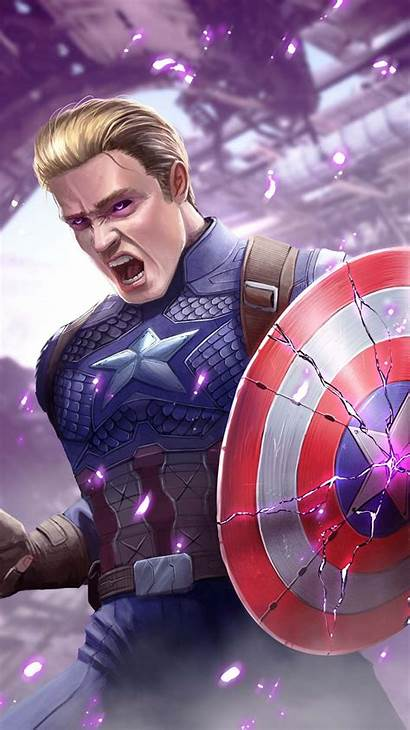 Captain Shield America Broken Wallpapers Cap Avengers