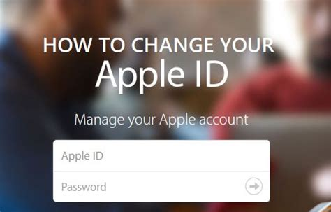 change apple id iphone how to change apple id on iphone or