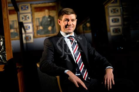Official: Rangers Appoint Steven Gerrard As New Manager On ...
