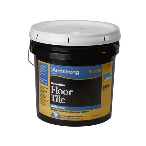 home depot flooring glue armstrong s 750 4 gal resilient tile adhesive 00750418 the home depot
