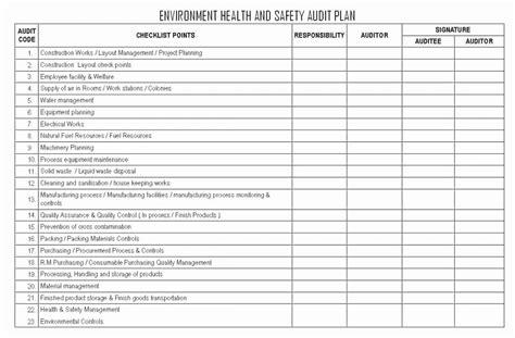 internal audit forms template lovely internal audit report