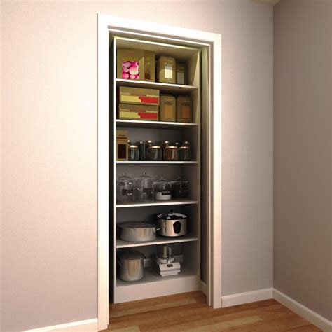 kitchen storage home depot modifi 30 in w x 15 in d x 84 in h white wood pantry 6172