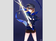 The Unknown and Mysterious Heroine X Saber