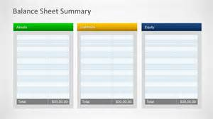 Template For Balance Sheet Simple Balance Sheet Powerpoint Template Slidemodel