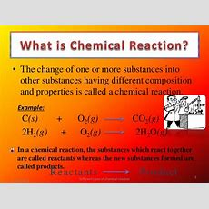 Different Types Of Chemical Reactions(ppt
