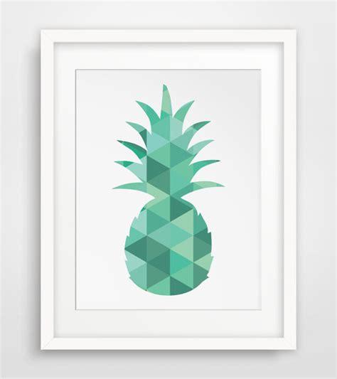 tableau deco cuisine carnet d 39 inspiration l 39 ananas dans la déco déco design clem around the corner