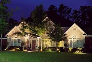 Different landscape lighting design ideas may enhance