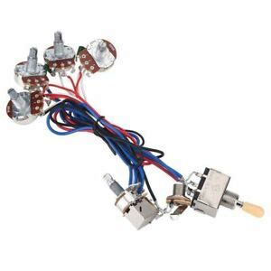 Easy Wiring Harnes For by Easy Setting Up 1 Set Guitar Wiring Harness Fit For Gibson