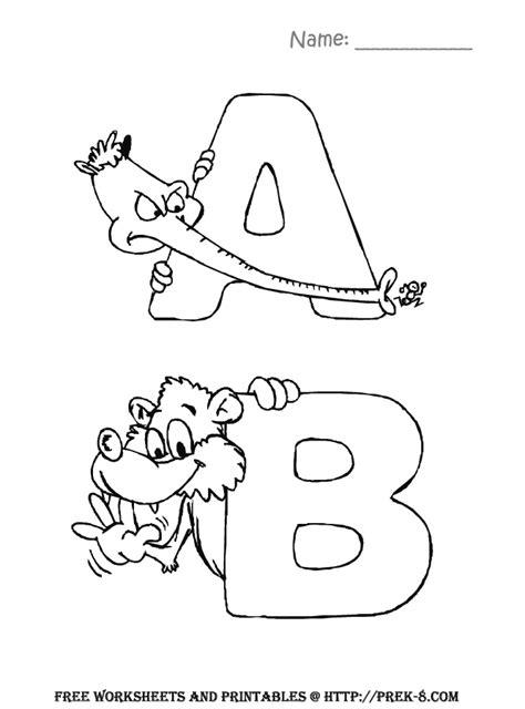 alphabet zoo decorative letters coloring book letters