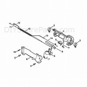 Stihl Kw 85 Sweeper Drum  Kw85  Parts Diagram  Handle  24