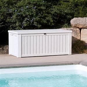 Coffre De Jardin : coffre de jardin tutti blanco la boutique desjoyaux ~ Teatrodelosmanantiales.com Idées de Décoration