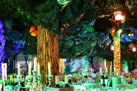 Enchanted Forest  Planet Gold Decor