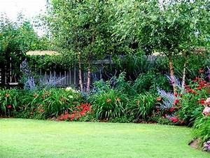 Enjoying the beautiful perennial flowers in your frontyard for Garden plant design
