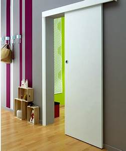 Porte Coulissante En Bois : porte coulissante en bois peindre lapeyre ~ Melissatoandfro.com Idées de Décoration