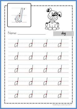 handwriting free practice makes lowercase